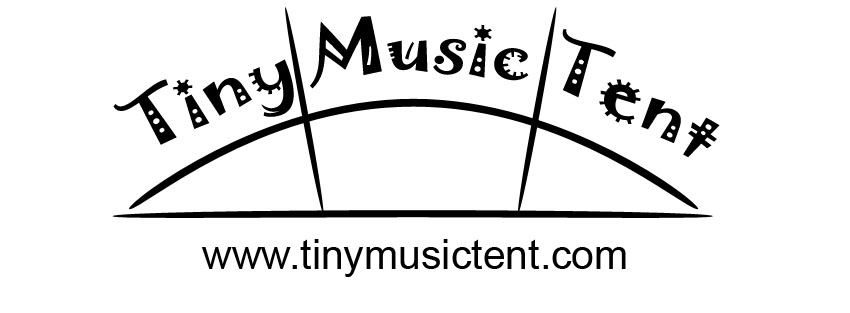 Tiny Music Tent festival chill out space music stage event